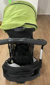 Britax Steelcraft Strider Compact with Second Seat