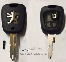Repair for Peugeot 2 button Remote Key Case 106 206 Fob Button Replacement