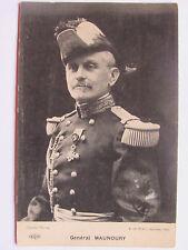 CPA CARTE POSTALE PORTRAIT GÉNÉRAL MAUNOURY OFFICIER ARMÉE FRANÇAISE 14/18 WWI