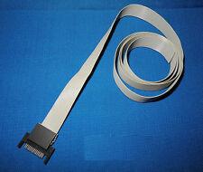 SHARP Taschencomputer 15-Pin Stecker mit ca. 95cm Flachband Kabel