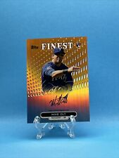 2013 Topps Finest Mike Olt #RA-MO Rookie Orange Refractor Autograph #'D 65/99 RC