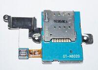 Original Samsung GT-N8020 Galaxy Note 10.1 LTE Sim Kartenleser Card Reader Flex