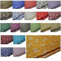 Faux Silk Brocade (Small Dragon) Jacquard Damask Kimono Fabric Material*BC1