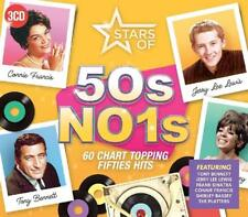 STARS OF 50S NO.1-PATTI PAGE,FRANKIE LAINE,DORIS DAY,PAUL ANKA,/+  3 CD NEUF