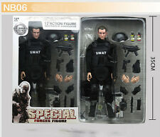 "12"" 1/6 SWAT Police Soldier military combat suit Action Figure Model toy"
