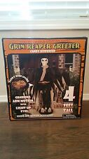 Grim Reaper Greeter Candy Dispenser Bowl Animated Motion Gemmy Halloween Decor
