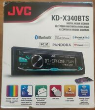 JVC KD-X340BTS Digital Media Receiver w/ Bluetooth, USB/AUX, SiriusXM Ready