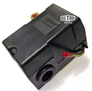 Air compressor pressure switch for porter cable dewalt craftsman 140-175 4 port
