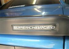 Dodge Challenger SRT8 Spoiler Body SUPERCHARGED 3D Domed self stick Emblem #SC2
