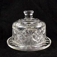 Vetro Burro Piatto Vintage Cupola Cloche Cover Conserve Marmellata Vetreria