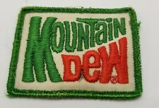 Mountain Dew Patch From Hat Green Vintage Used R1