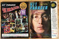 2 Vintage Hit Parader Magazines - 1969 HIT PARADER MAGAZINE John Lennon -