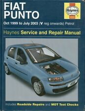 FIAT PUNTO MK2 1.2 LITRE 3- & 5- DOOR PETROL 1999 - 2003 SERVICE & REPAIR MANUAL