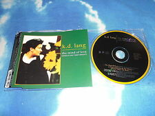 K.D. LANG - THE MIND OF LOVE GERMAN 3 TRK CD SINGLE NEAR MINT