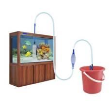 Aquarium Cleaning Vacuum Water Change Gravel Cleaner Fish Tank Siphon Pump HD