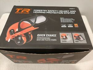 TR Industrial TR88011 Forestry Safety Helmet and Hearing Protection System