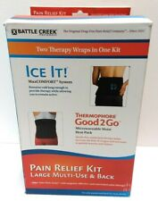 Battle Creek Back Pain Kit with Moist Heat and Cold Therapy
