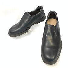 SEBAGO,Men's Slip-On Black Leather  Loafers Size: 12W  71-9022  (sh-175)