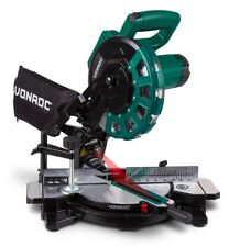 VONROC Troncatrice radiale 1700W, Ø diametro 216mm. Laser integrato. Con lama