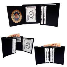 Cartera Porta Insignia para la Policía Local.(Insignia Incluida).Piel Cabrera