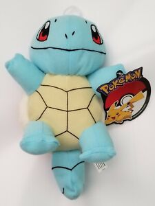 Squirtle Pokemon Plush Stuffed Animal Authentic Toy NEW