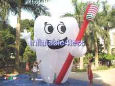 20' Inflatable Tooth Advertising Dentist Ad Health Promotion CUSTOM MADE