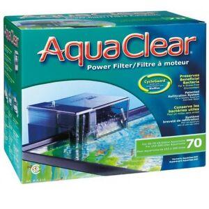 AquaClear Motoraussenfilter 70 für Aquarien von 152 bis 265 Liter