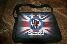 "THE WHO ""MOVING ON!"" TOUR LAPTOP / BOOK BAG VIP SOUNDCHECK EXCLUSIVE ITEM UNUSED"