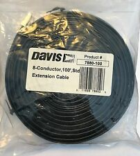 Davis 8-Conductor Cable for Weather Wizard 100ft / 30m 7880-100