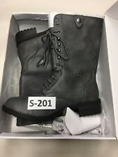 Marco Republic Women's Expedition Military Gray Combat Boots Size 11 #S-201