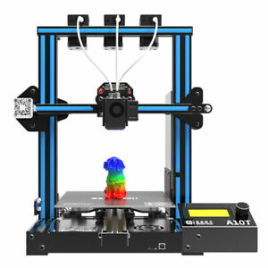 Geeetech A10T 3 in 1 out FDM 3D Printer 220*220*260mm Easy To Exchange The Wire