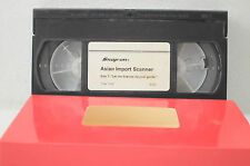 Snap-On Asian Import Scanner VHS Movie
