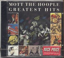 MOTT THE HOOPLE - Greatest hits - CD 1989 SIGILLATO SEALED