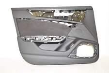 Audi A7 C7 F2 18- Tür Türverkleidung Innen VL Vorne Links Alcantara Soul/stahlgr