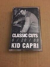 DJ Kid Capri 6/20/89 Tape Kingz Old School Classic Cuts NYC Mixtape Cassette