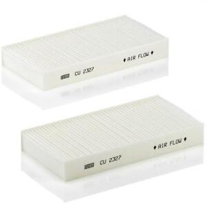 Mann-filter Cabin Air Filter CU2327-2 fits HONDA CR-V RD 2.4 Vtec 4WD (RD7)