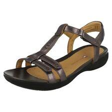 Sandalias y chanclas de mujer de color principal gris de piel talla 36