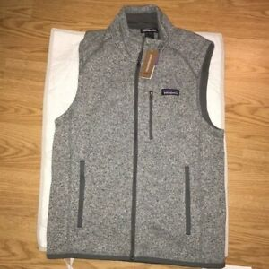 Patagonia Better Sweater Fleece Vest Stonewash Medium Mens NWT
