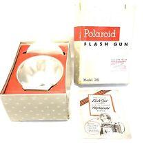 Polaroid Flash Gun For Land Cameras Model 281 IOB With Manual