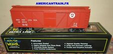 Wagon Outside Braced Boxcar Pennsylvania 3 rails échelle O Weaver