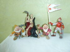Figurine Bully Hand Germany  1 guerrier 2 nains 1 squelette Lot de 4