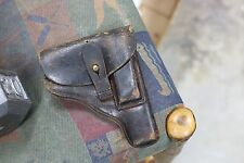 RARE ORIGINAL WWII GERMAN BLACK LEATHER PISTOL HOLSTER FOR WALTHER PPK