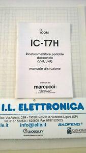 MANUALE IN ITALIANO istruzioni d'uso per ICOM IC-T7H