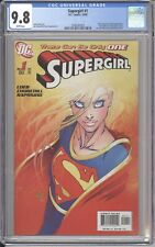 DC Comics SUPERGIRL #1 CGC 9.8 Michael Turner Cover (2005)