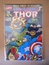 CAPITAN AMERICA & THOR n°7 1995 Marvel Italia  [G696]