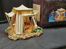 Roman Fontanini Heirloom Nativity Kings Tent 50153 In Original Box