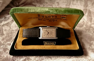 Bulova 1928 DICTATOR vintage manual wind watch 8AN BOX Special Rare Collector