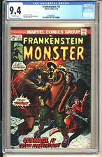 Monster of Frankenstein #11 CGC 9.4 OW NM  Marvel Comics 1974 vol 1 Ploog Horror