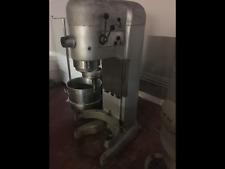 Hobart Mixer 140 Qt , V-1401, comes with 2 bowls, 2 attachments and a grinder.