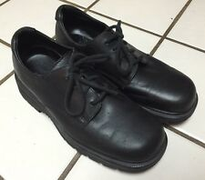 DR MARTENS DMs_Black Leather Classic Oxford lace up Shoes_6 UK_US Mens _Womens 8